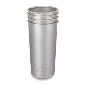 Klean Kanteen Pint - Recipientes para bebidas - 592ml 4Pack gris